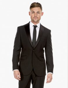 cheap black dinner suit