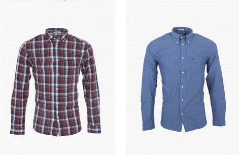 wrangler casual shirts