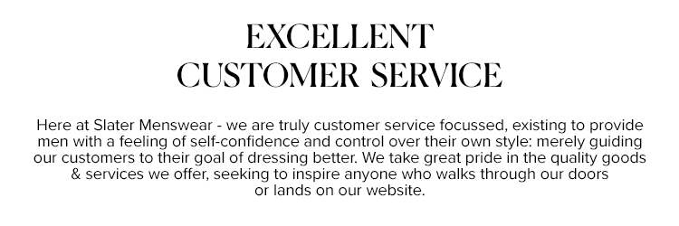 Excellent customer services online and in store